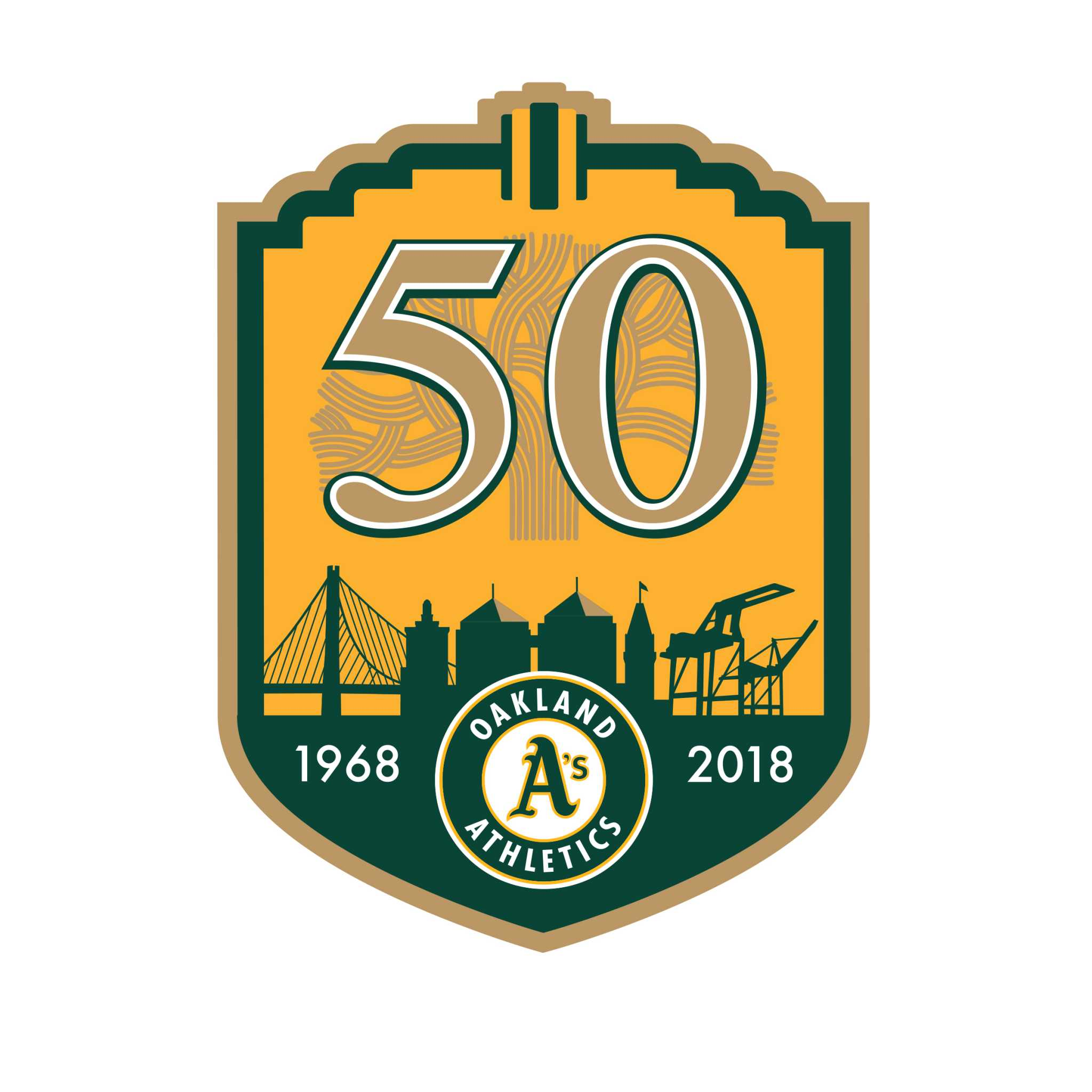 Oakland-As-50th-anniversary-logo