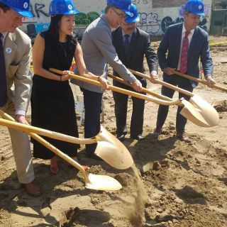 Tenderloin affordable hou­sing breaks ground