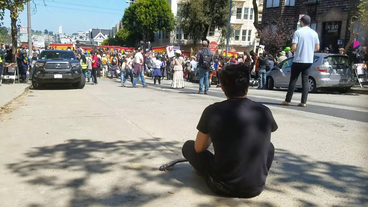 Alamo Square Protest