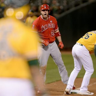 Angels edge A's in 10 as Matt Olson stays hot
