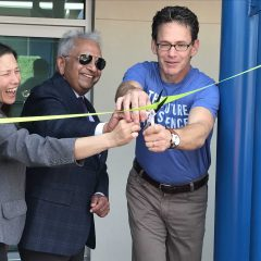Ribbon Cutting at Science Garage
