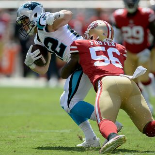 49ers' Foster charged with trio of felonies