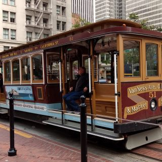 California Street cable car shutdown starts Sept. 22