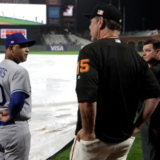 Giants, Dodgers washed out Friday at AT&T Park