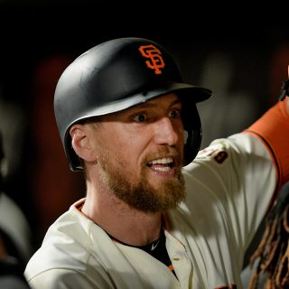 Giants activate Pence, Hanson, outright Blanco