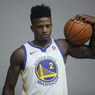 Rookie Jordan Bell lets loose on the Bulls, on and off the court
