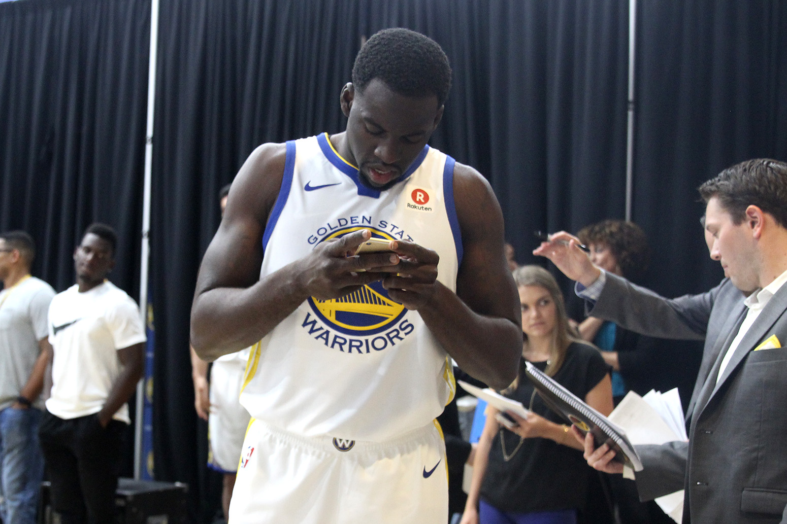 Golden State Warriors Media Day