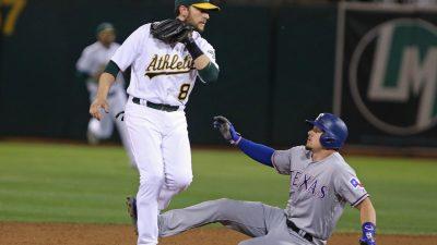 Athletics vs Rangers
