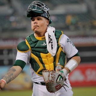A's catcher Bruce Maxwell arrested in Arizona