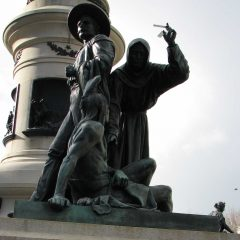 Civic Center Statue