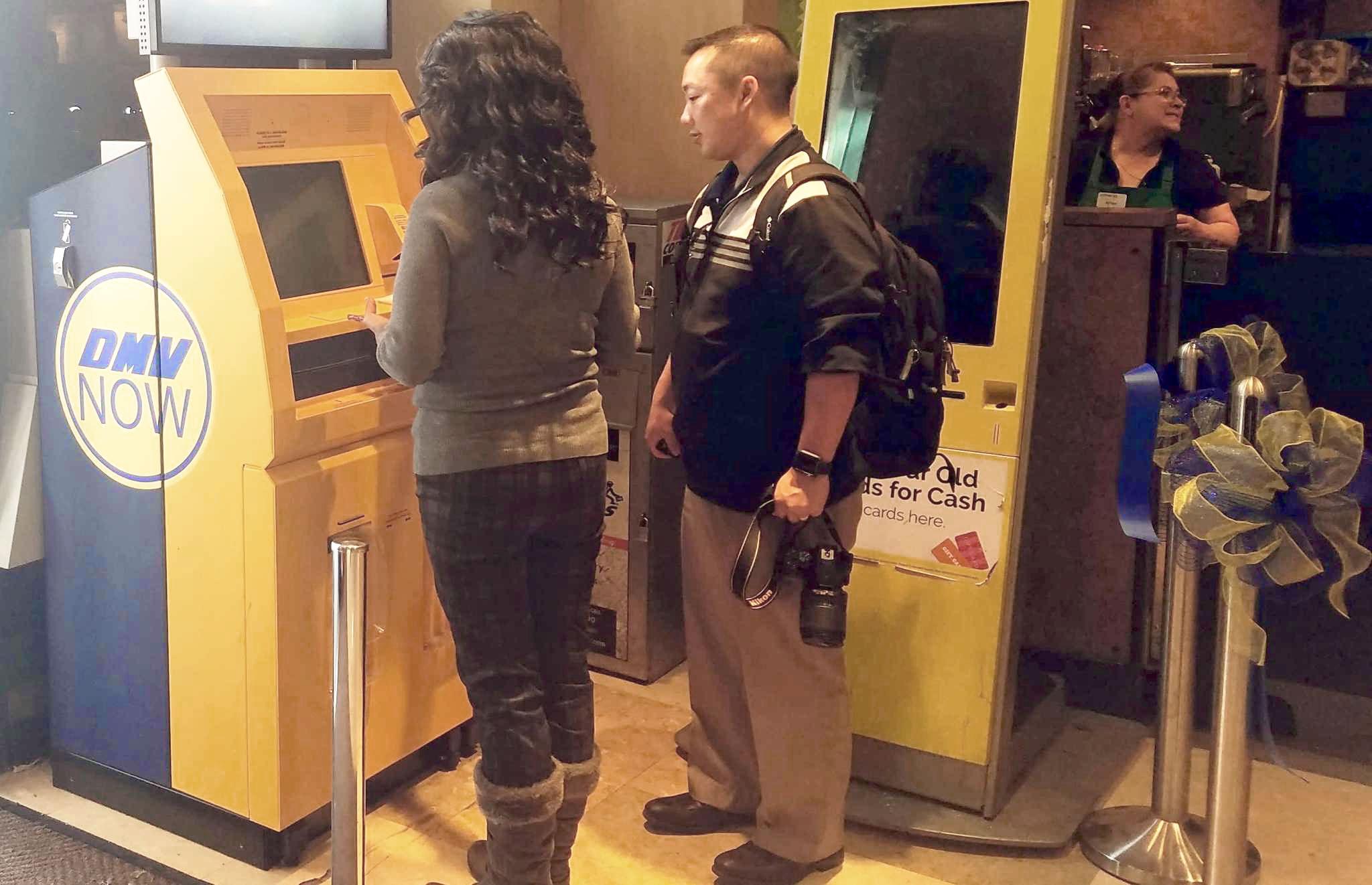 DMV self-serve kiosk debuts at Safeway – SFBay