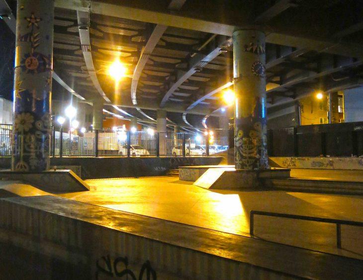 SoMa skate park