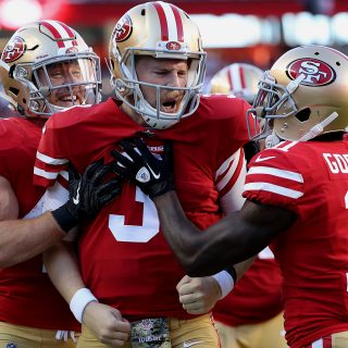 49ers top Giants for first win of Shanahan era