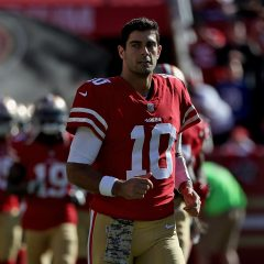 Garoppolo to start in place of injured Beathard