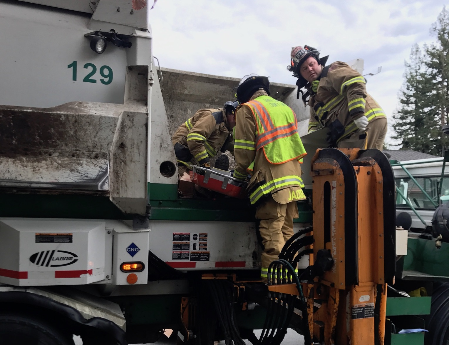Garbage Truck Rescue