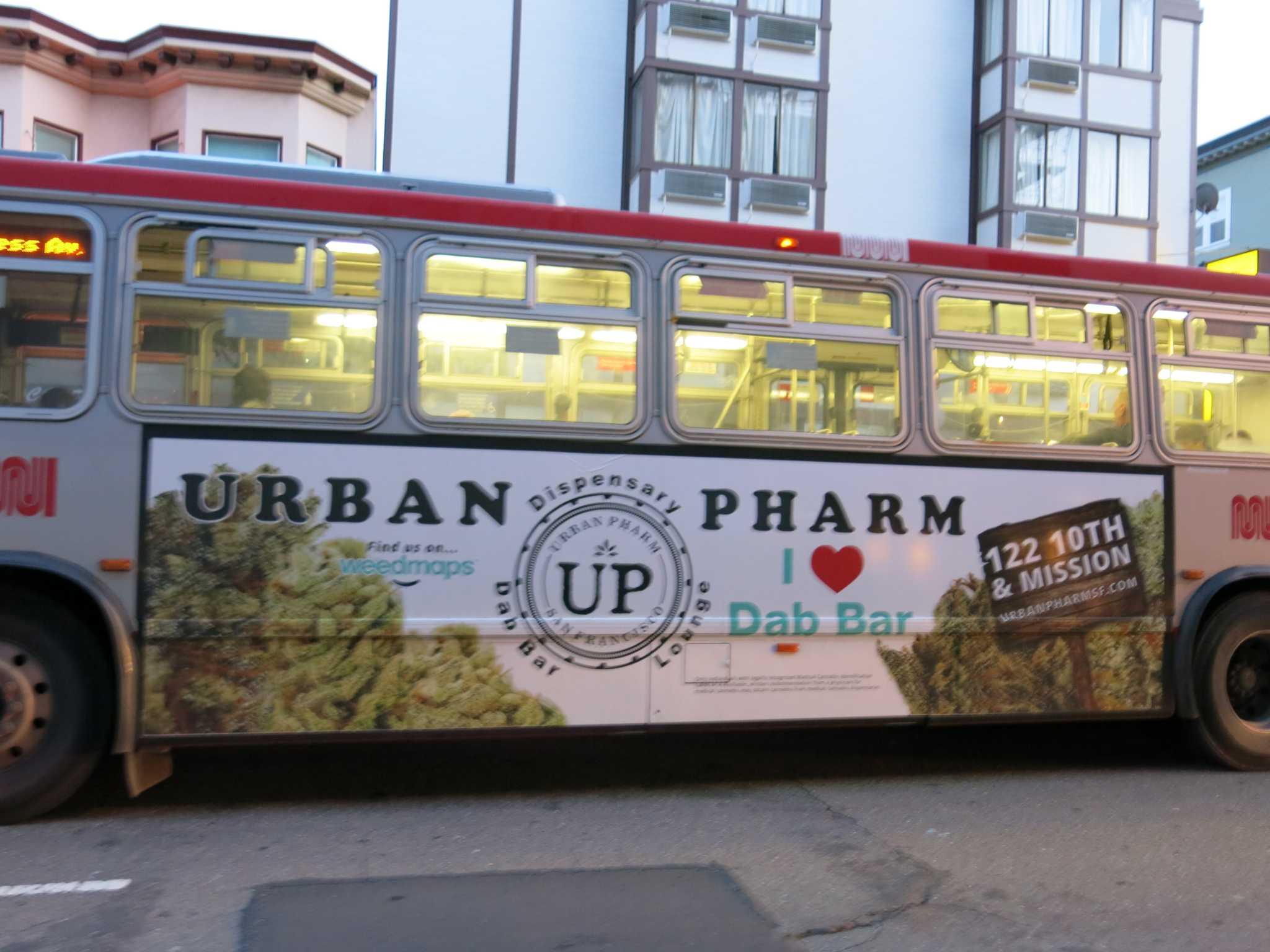 Muni marijuana ad