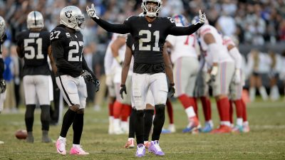 Raiders survive Giants, rise to top of AFC West 3