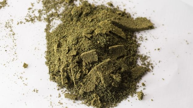Cannabis flour for cooking. SOURCE: Bruce Wolf