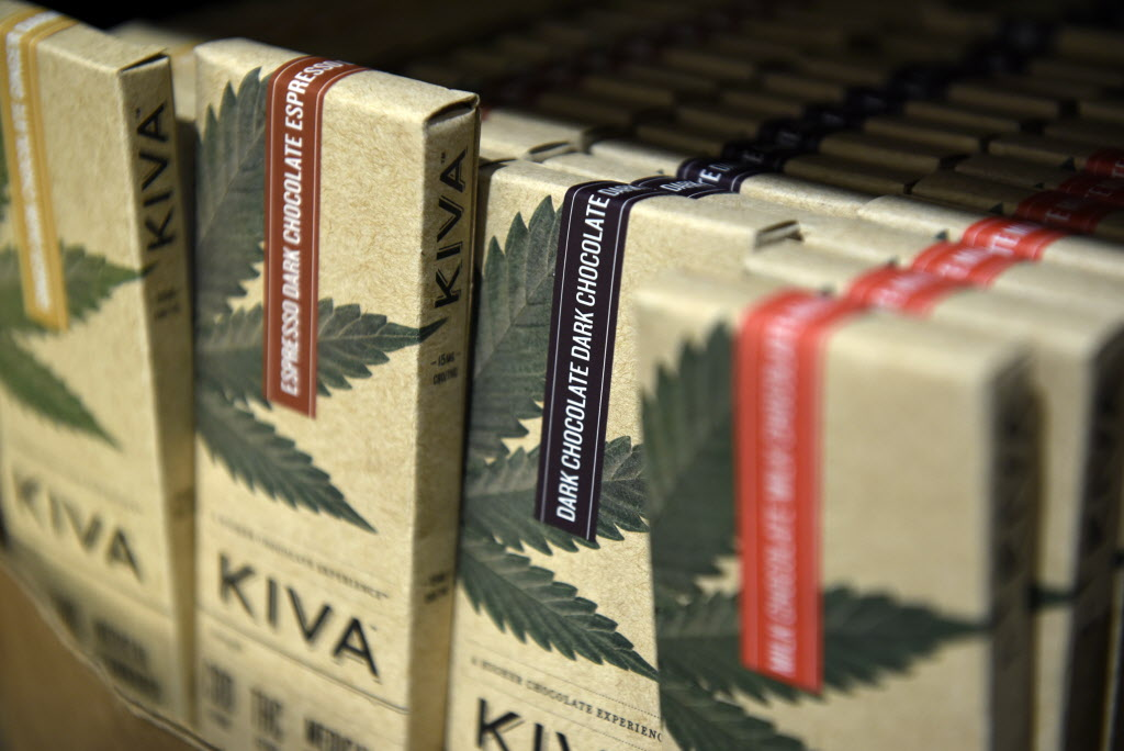 Kiva Confections marijuana chocolate tour