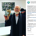 The first legal cannabis at KindPeoples in Santa Cruz was sold to UCSC professor emeritus Craig Reinarman, who spoke on the injustice of the drug war and the historical significance of cannabis prohibition coming to an end.