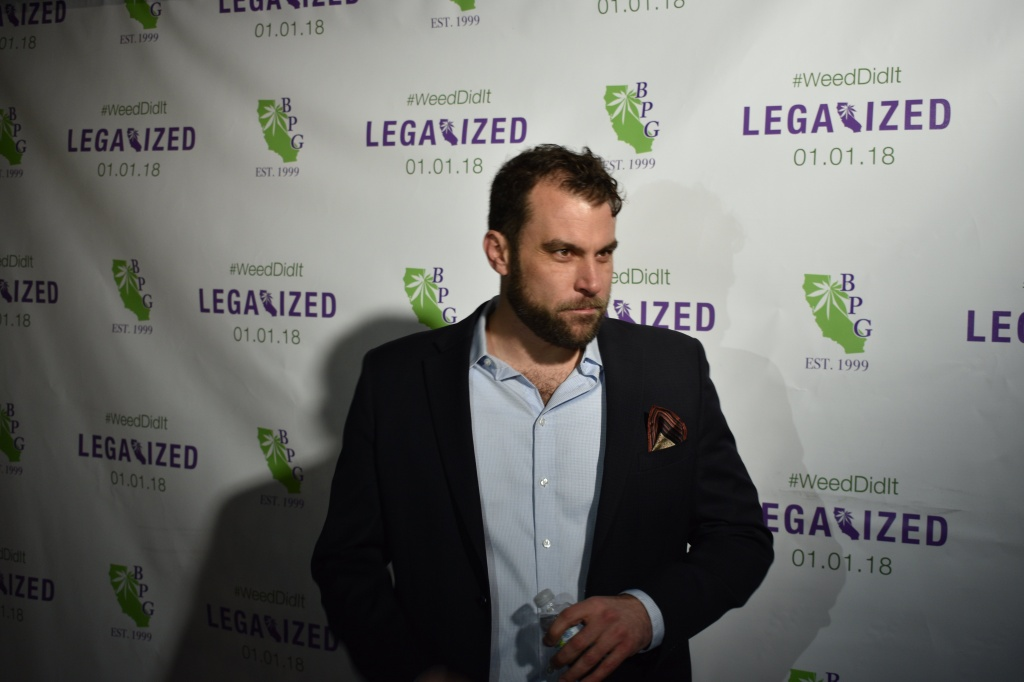 """It's just been a crazy run — 18 years here at BPG and 20 years since Prop 215. It's crazy, with all the regulations coming down just six weeks ago and having to scramble to get everything ready. And not knowing where the supply chain will be January 1. Whoa. It's crazy right now in California marijuana but it's historic."""