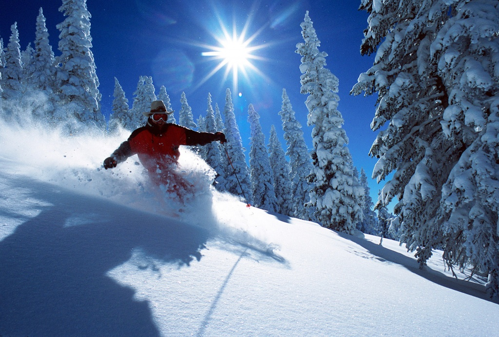 Steamboat Springs has us dreaming of an epic ski vacation. | Photo: Larry Pierce