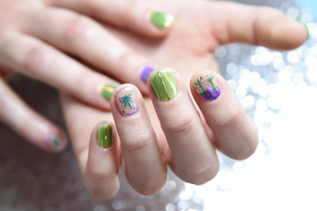 Nail bling takes on a cannabis sheen | GreenState