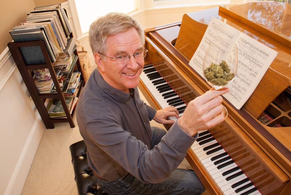 Travel author, TV show host Rick Steves relaxes at home by playing Chopin and smoking a joint, he said. | Photo courtesy of Rick Steves