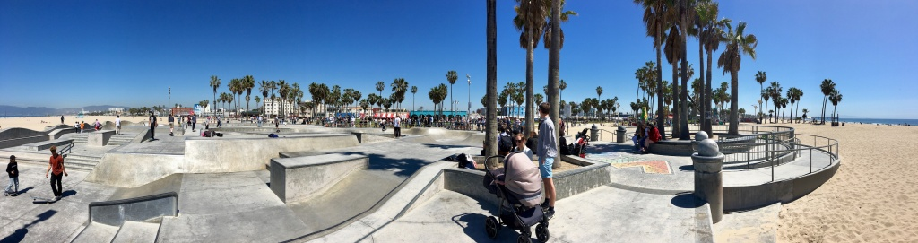 The skate park in Venice Beach. | Photo: David Downs