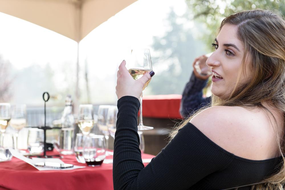 Paradise Ridge, winery, tasting room, winery, wine tasting, The Press, California