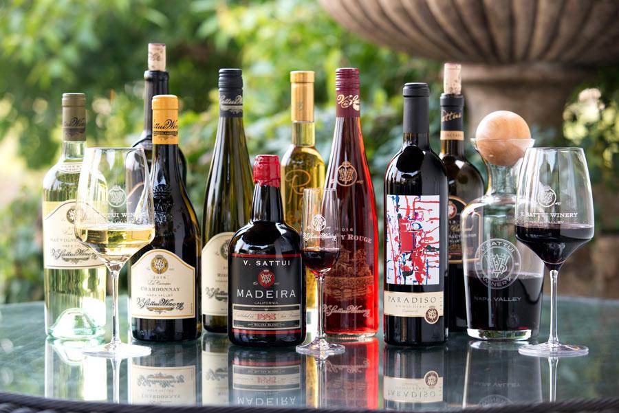 V Sattui wine