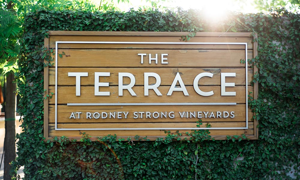 The Terrace at Rodney Strong Vineyards