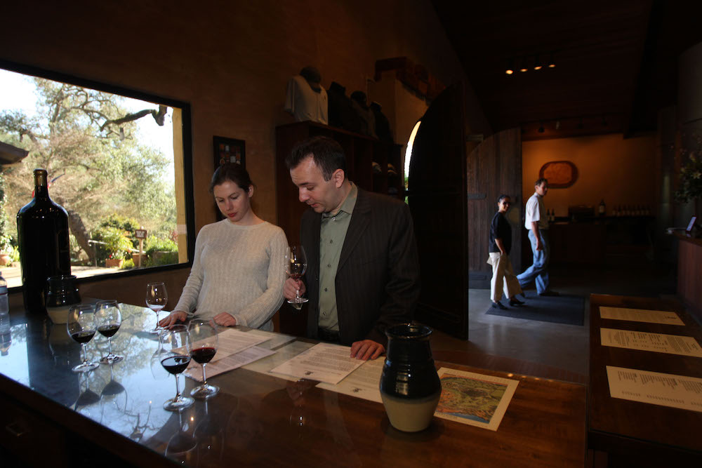 Stags Leap, Stags Leap District, Leap Wine, Stag's Leap Wine Cellars, tasting room, wine, Leap Wine