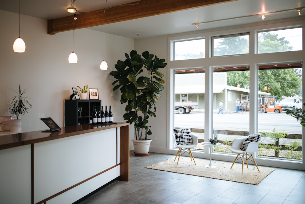 Baxter, Baxter Winery, winery, tasting room, Pinot Noir, Chardonnay, modern design, Philo, Anderson Valley, California, The PRess
