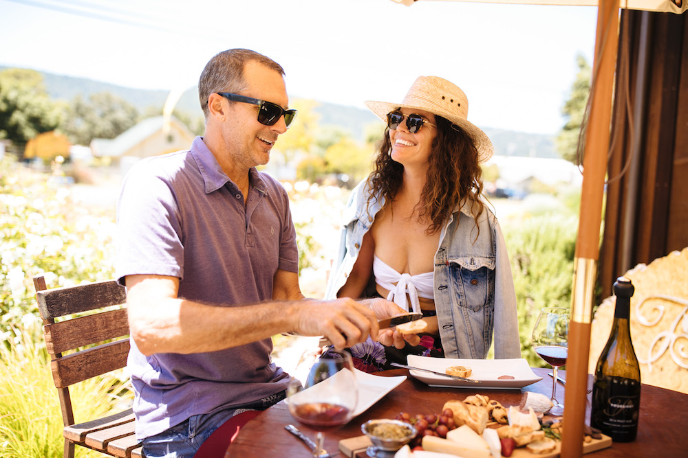 Foursight, Pinot, Pinot Noir, tasting, food and wine, Anderson Valley, California, The Press
