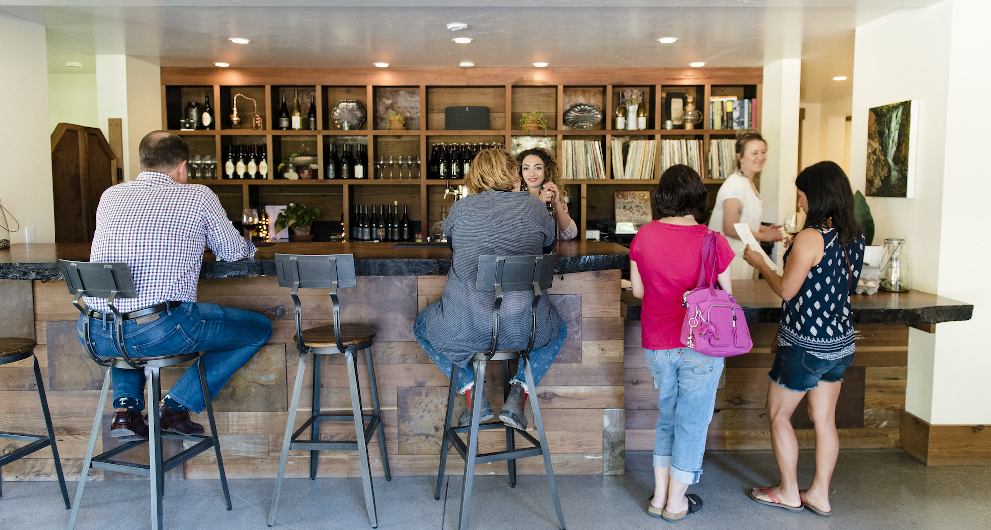 Horse, Plow, Horse & Plow, winery, tasting room, Sonoma County, California, the Press