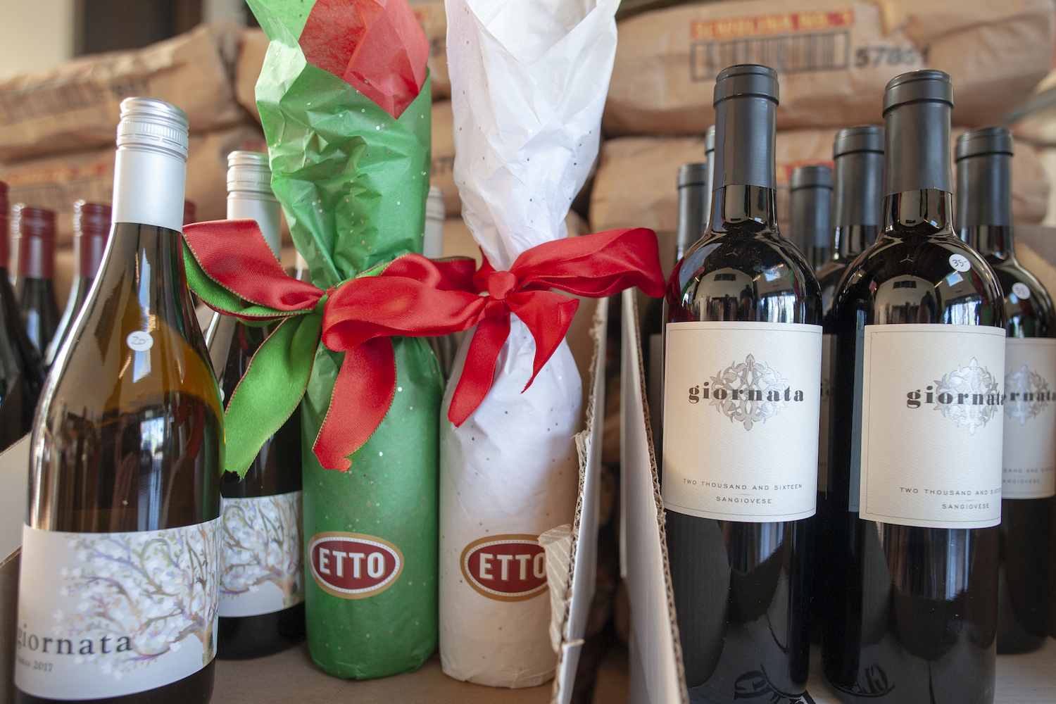 Giornata, Etto pasta wine, italian wine, Paso Robles wine, The Press, California
