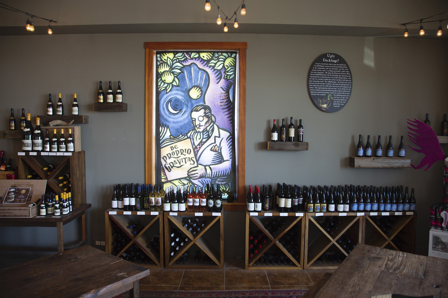 Biodynamic, Bonny Doon, biodynamic wine, where to drink biodynamic wine, biodynamic tasting room, The Press, California wine