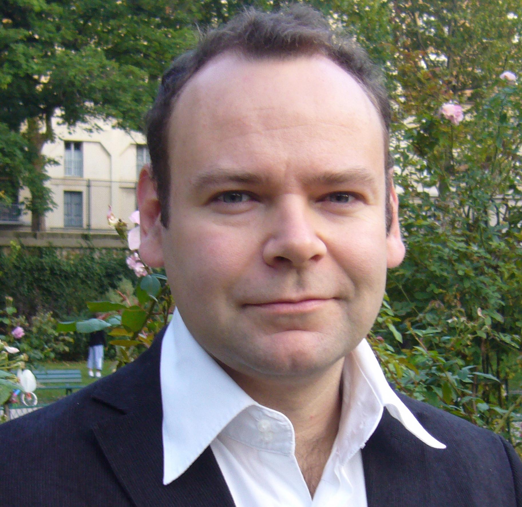 Portrait of Clément Chéroux