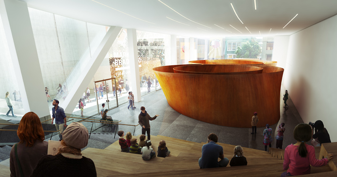 Theaters Museums Increasingly Catering >> New Details Of Sfmoma Expansion Design Reveal Museum S Broader