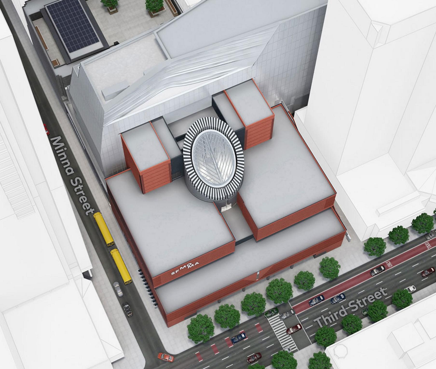 Screenshot of SFMOMA interactive map