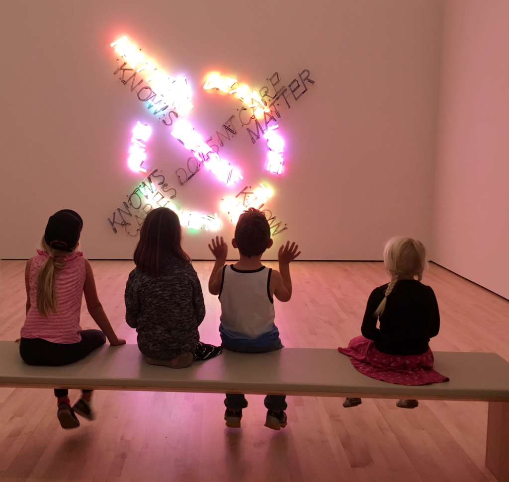 Visiting With Kids Sfmoma