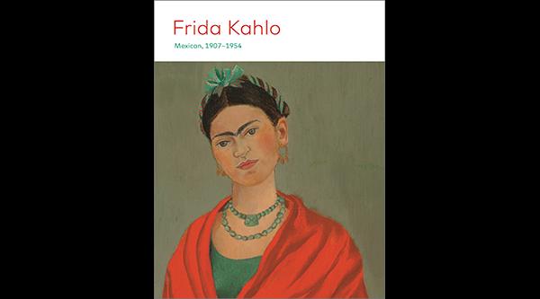 Cover of Frida Kahlo artwork guide