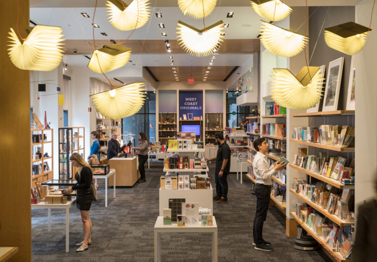 Visitors in the SFMOMA Museum Store