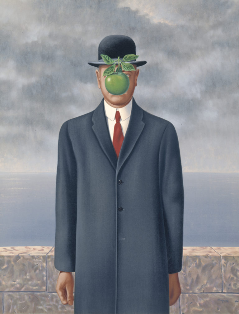 Magritte Painting