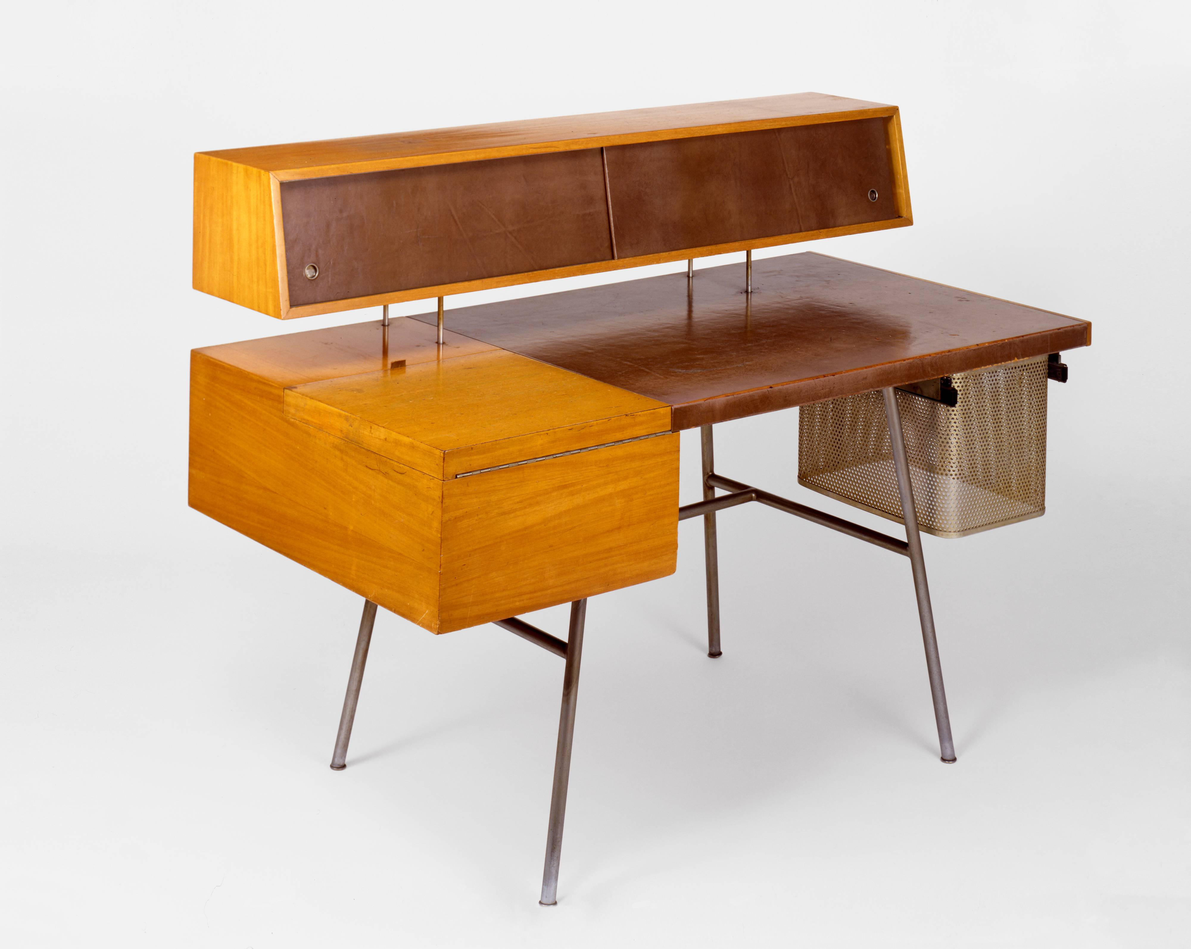 George Nelson, Home Desk, Model 4658, 1946 · SFMOMA