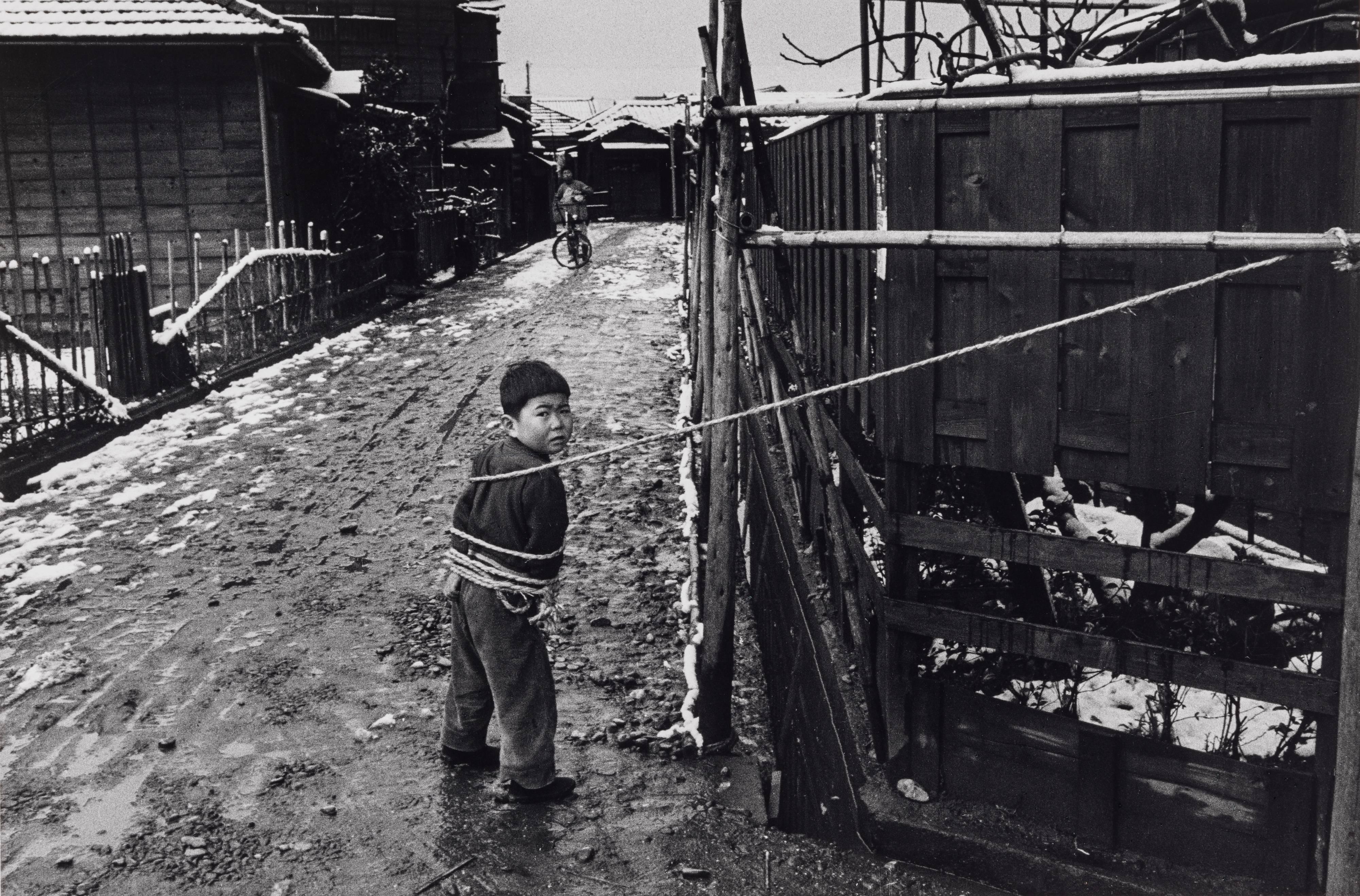 Shigeichi Nagano, Child Playing Alone (Omori, Tokyo)