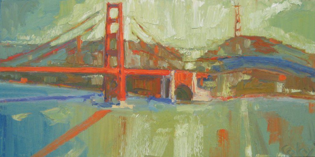 Watercolor Painting Modern Art