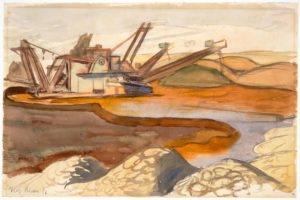 foto de Diego Rivera, Symbolic Landscape, 1940 · SFMOMA