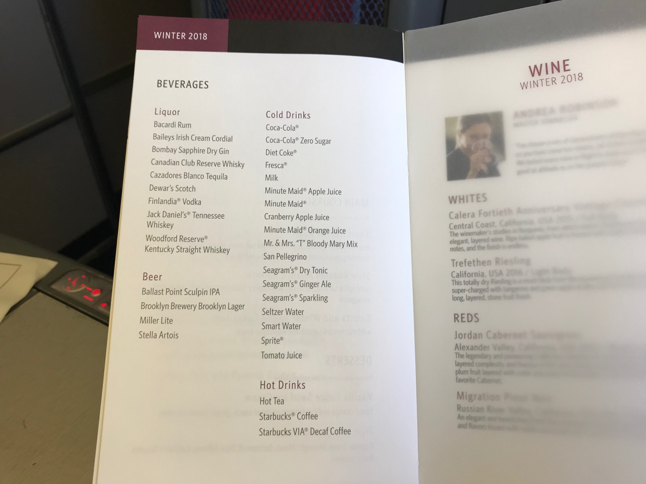 Delta In-Flight Meal/Food Service: The Definitive Thread